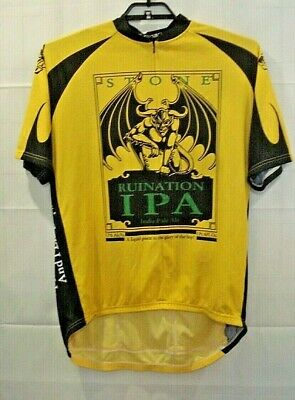 Stone Brewing Ruination IPA 3XL Bicycle Cycling Canari JerseyMade In USA 3XL 6eeb9b040