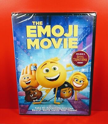 The Emoji Movie (DVD, 2017) - BRAND NEW!