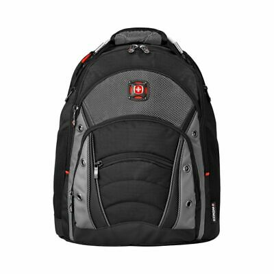 Wenger® Synergy Laptop Backpack, Black/Gray