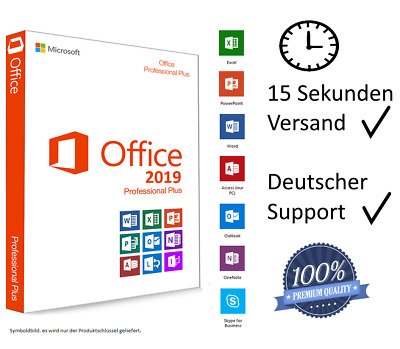 Microsoft Office 2019 Professional Plus Key MS Office Pro Plus Vollversion Email