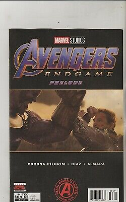 Marvel Comics Avengers Endgame Prelude #3 April 2019 1St Print Nm