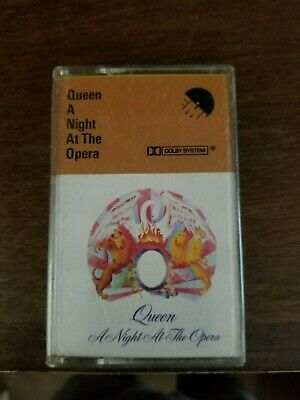 Queen! A Night At The Opera Cassette Tape!
