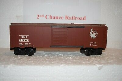 O Scale Trains KMT Jersey Central Box Car 567890