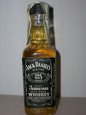 MINIATURA COLLECTION WHISKYJACK DANIELS 1983 USA cl.5 gr.45