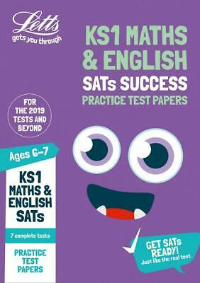 KS1 Maths And English Sats Practice Test Papers: Key Stage 1 REVISE REVISION NEW