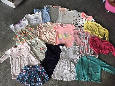 Huge Spring/summer Bundle Baby Toddler Girls 12-18 Months 1-1/2 Years Clothes