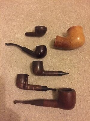 Job lot collection of smoking pipes Reject Stonehaven John Peel