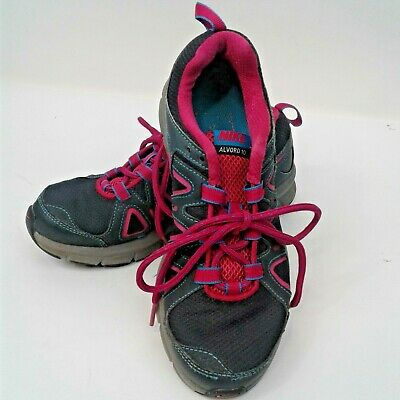 e77ba4467bc Nike 512038-005 Air Alvord 10 Grey Pink Trail Running Shoes Women s 6.5