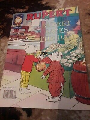 Clearmark Rupert the Bear Monthly comic sept 1990 no 19