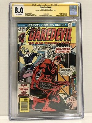 Daredevil 131 CGC Signature Series 8.0 First Appearance of The New Bullseye