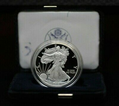 2008 US Mint American Eagle 1oz Silver Proof Coin with Case & COA [02DUD]