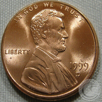 1999-D Unc Lincoln Memorial Penny Nice Coin **Make An Offer**