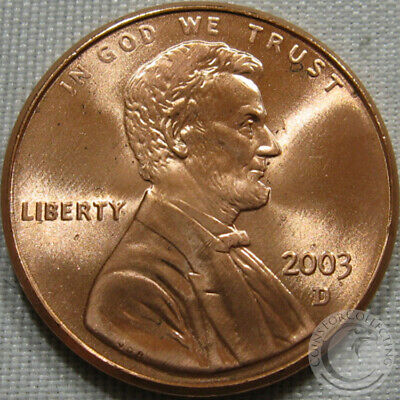 2003-D Unc Lincoln Memorial Penny Nice Coin **Make An Offer**