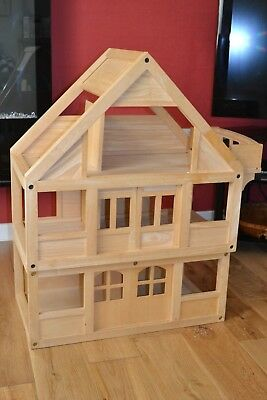 Plan Toys Large Wooden Dolls House