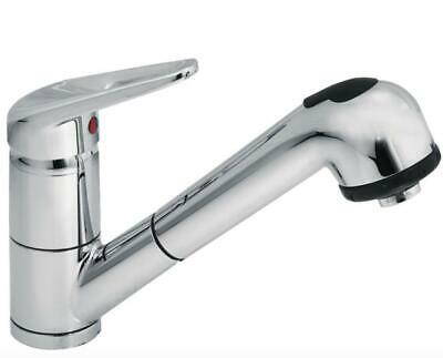 Smeg Md10Cr2 Mixer Tap Chrome Shower Extractable Rod Rotating