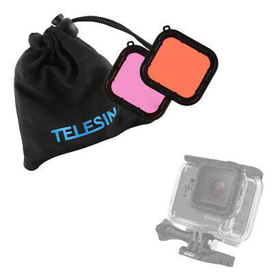 Underwater Diving Lens Filter Protective Cover Snorkel for GoPro Hero 5 OS972