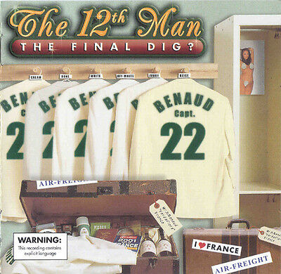 The 12th Man ‎–The Final Dig? 2 x CD Pack 2001 EMI ‎– 724353759629 Non-Music