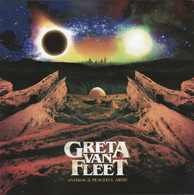 CD - Greta Van Fleet - Anthem Of The Peaceful Army - (ROCK) - 2018