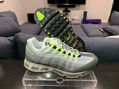 "1aec151451c508 Air Max 95 Neon 360 ""One Time Only"" Size 10.5 both In Deadstock Condition"
