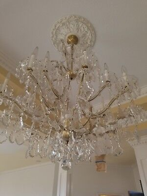 1940 French vintage Chandelier