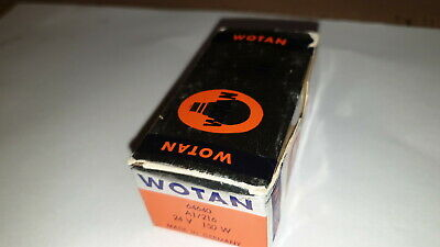 New Old Stock Wotan/atlas White Lite Projector Lamp Bulb 24V 150W G6-35 A1/216
