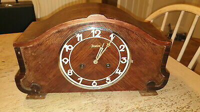 Large Junghans Mantle Clock Movement W278 Westminster Chimes
