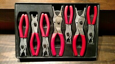 SNAP ON 7Pc Snap Ring Plier Set