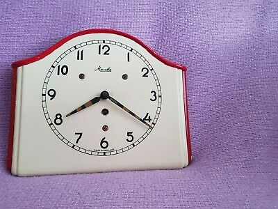 Vintage Mauthe wall clock Made in Germany