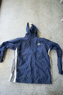 Vintage Adidas Spray jacket, Blue, Medium