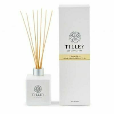Tilley Triple Scented Reed Diffuser - Lemongrass