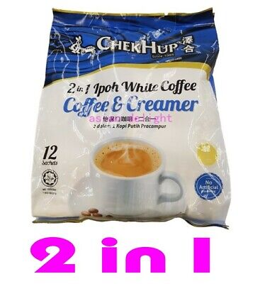 Chek Hup Malaysia 3 in 1 ChekHup Instant Premix White Coffee Set (Any 4 packs )