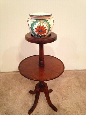Antique 1920's Ferguson Bros Smoking Stand or Candle Stand Curio Stand