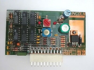LINCOLN 203 pump H1 Automatic Grease Lubrication System 236-13857-1 Control Plat
