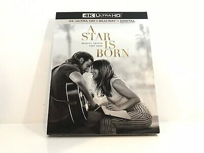 A Star Is Born (4K Ultra HD + Blu-ray 2018) with Slipcover (No Digital)