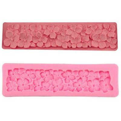 Silicone Pearl String Beads Mold Cake Decorating Fondant Baking Mould Tools JA