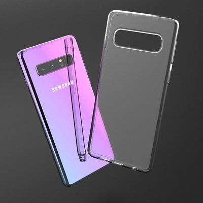 For Samsung Galaxy S10 Plus S10 Lite Slim Transparent Soft Clear Case Back Cover