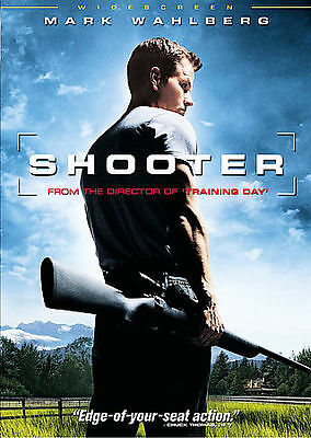 Shooter DVD THE MOVIE 2007 Widescreen Mark Wahlberg, Michael Pena Danny Glover