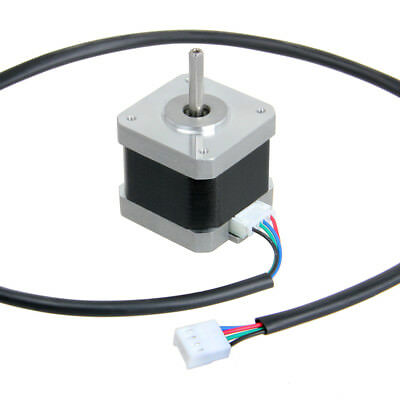 Nema17 Shaft Stepper Motor for 5mm Pulley RepRap CNC Prusa 3D printer