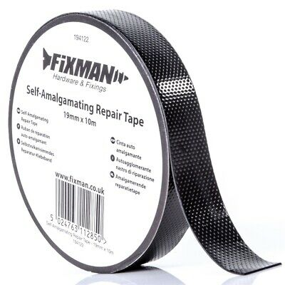 Self Amalgamating Tape Repair Rubber Waterproof Sealing Insulation 19mm x 10m