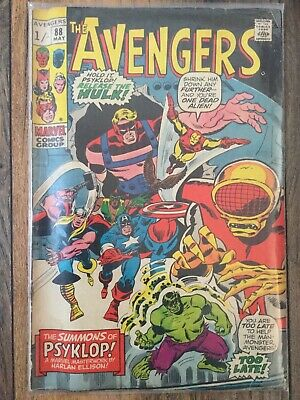 Marvel The Avengers Vol1 No 88 May 1971