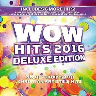 Various Artists - WOW Hits 2016 (2 Disc, Deluxe Edition) CD NEW