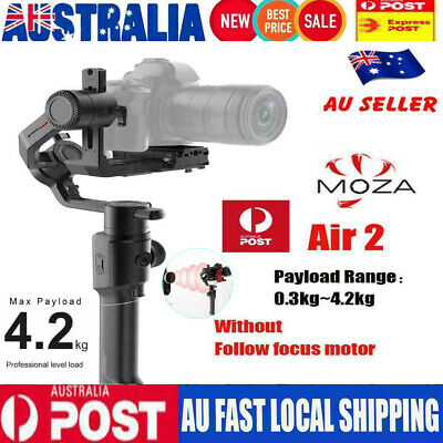 Genuine MOZA Air 2 3-Axis Stabilized Handheld Gimbal for Mirrorless DSLR Camera