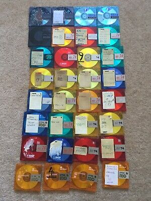 32 Various Recordable Minidisc