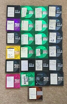 25 Various recordable minidiscs