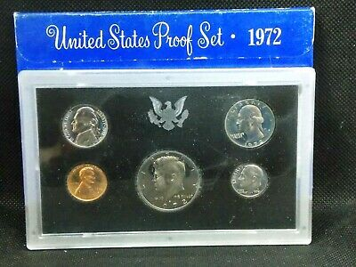 """1972 """"S"""" United States Clad Proof Set East Coast Coin & Collectables, Inc."""