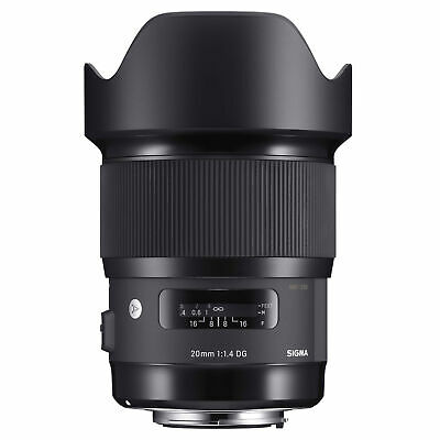 Sigma Second Stock 20mm F1.4 DG HSM 'A' Lens - Canon Fit