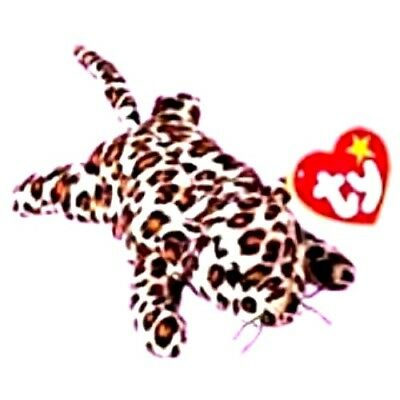 TY TEENIE BEANIE BABIES 1999 McDonald s Happy Meal Freckles the Leopard  RETIRED 344197a100b6