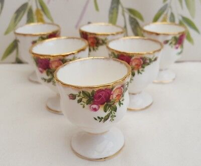 "Royal Albert ""Old Country Roses"" Egg Cups ***4----AVAILABLE***"