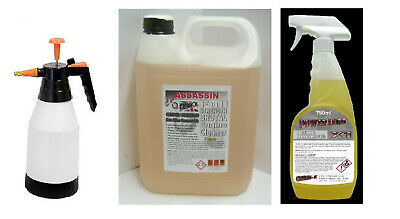 ASSASSIN Strong ENGINE CLEANER DEGREASER & 1.5 L Pressure Spray & X1 Power-Lube