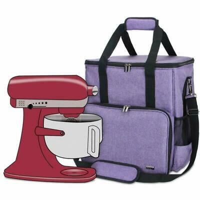 Luxja Storage Bag Compatible with KitchenAid Stand Mixers and Accessories (Compa